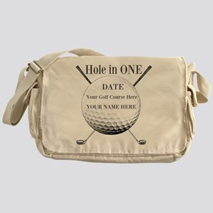 Hole In One Messenger Bag