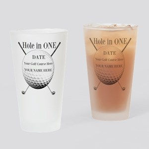 Hole In One Drinking Glass