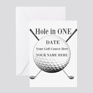 Hole In One Greeting Cards