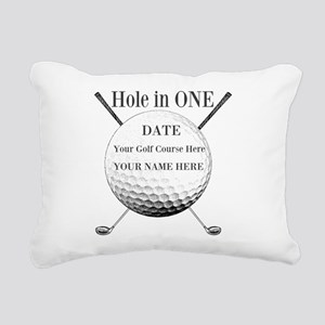 Hole In One Rectangular Canvas Pillow