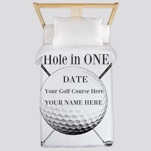 Hole In One Twin Duvet