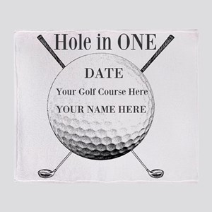 Hole In One Throw Blanket