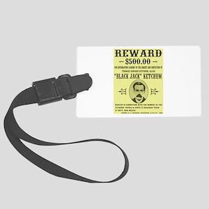 Black Jack Ketchum Wanted Luggage Tag