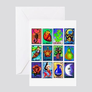 Loteria Celeste Greeting Card