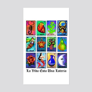 Loteria Celeste Rectangle Sticker