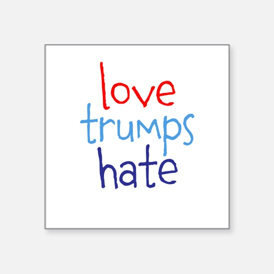 Love Trumps Hate Sticker