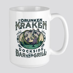 Drunken Kraken Bar and Grill Mugs