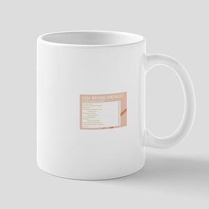 Case Writing Checklist Mugs