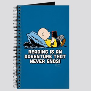 Charlie Brown - Reading is an Adventure Journal