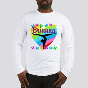 PERSONALIZE GYMNAST Long Sleeve T-Shirt