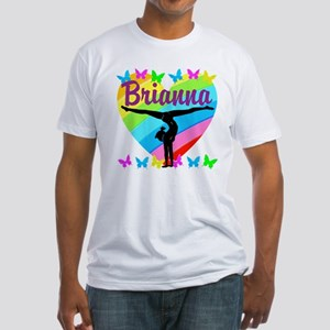 PERSONALIZE GYMNAST Fitted T-Shirt
