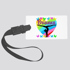 PERSONALIZE GYMNAST Large Luggage Tag