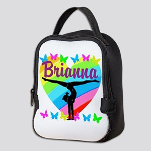 PERSONALIZE GYMNAST Neoprene Lunch Bag