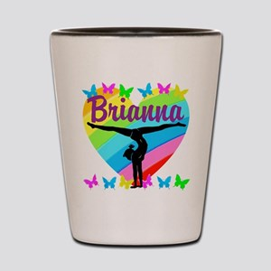 PERSONALIZE GYMNAST Shot Glass