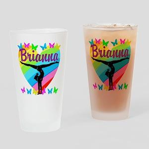 PERSONALIZE GYMNAST Drinking Glass