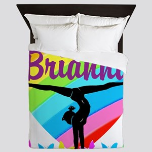 PERSONALIZE GYMNAST Queen Duvet