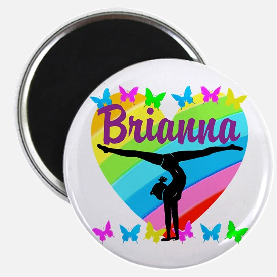 """PERSONALIZE GYMNAST 2.25"""" Magnet (100 pack)"""
