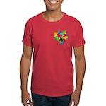 Paw Heart Dark T-Shirt