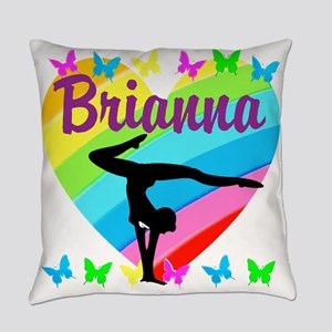 PERSONALIZE GYMNAST Everyday Pillow