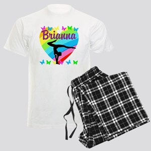 PERSONALIZE GYMNAST Men's Light Pajamas