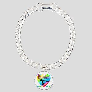 PERSONALIZE GYMNAST Charm Bracelet, One Charm
