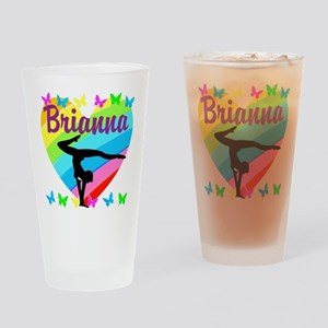 PERSONALIZE GYMNAST Drinking Glass