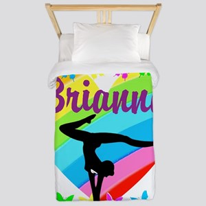 PERSONALIZE GYMNAST Twin Duvet