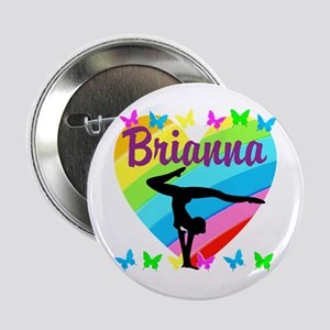 "PERSONALIZE GYMNAST 2.25"" Button (10 pack)"