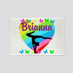 PERSONALIZE GYMNAST Rectangle Magnet