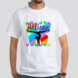 PERSONALIZE GYMNAST White T-Shirt