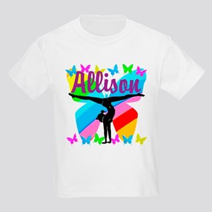 PERSONALIZE GYMNAST Kids Light T-Shirt