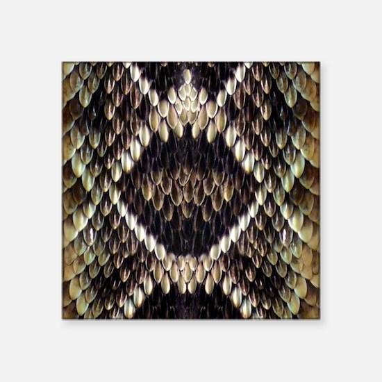 Eastern Diamondback Rattlesnake Sticker