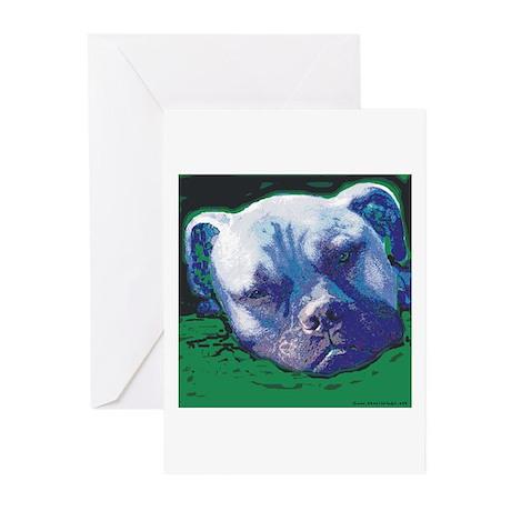Bullmastiff Quiet Time Greeting Cards (Pk of 10)