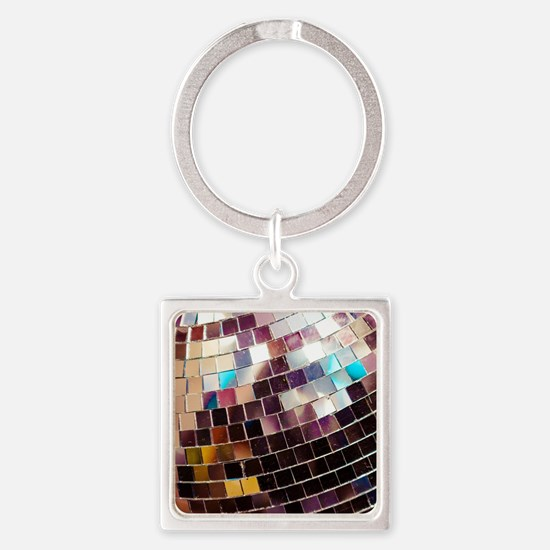 Funny Brights Square Keychain
