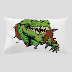 T Rex Rips Pillow Case