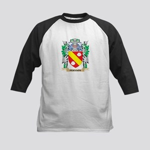 Persson Coat of Arms - Family Cres Baseball Jersey