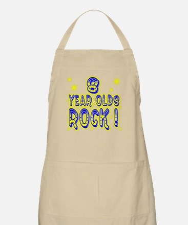 8 Year Olds Rock ! BBQ Apron