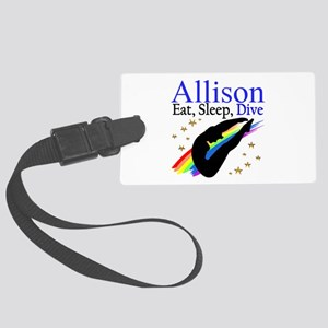 PERSONALIZE DIVER Large Luggage Tag