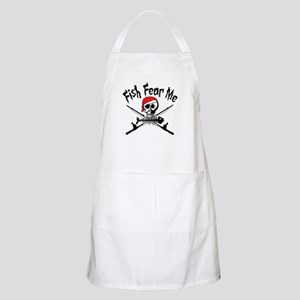 Fish Fear Me BBQ Apron