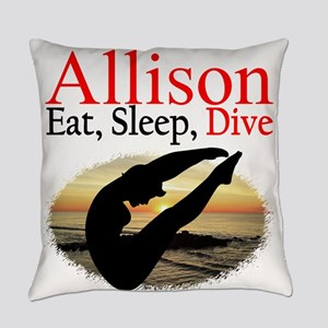 PERSONALIZE DIVER Everyday Pillow