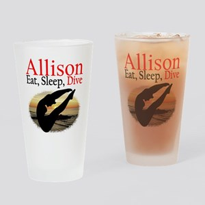 PERSONALIZE DIVER Drinking Glass