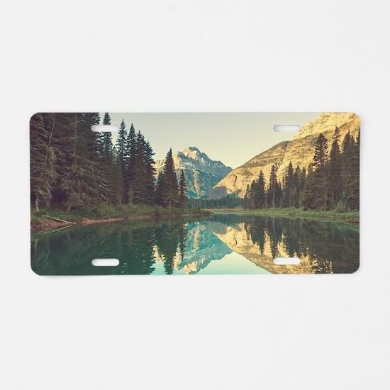 Glacier National Park Aluminum License Plate