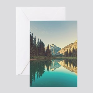 Glacier National Park Greeting Cards