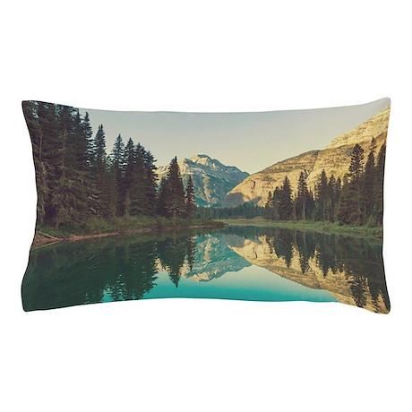 Glacier National Park Pillow Case By Bestgear2