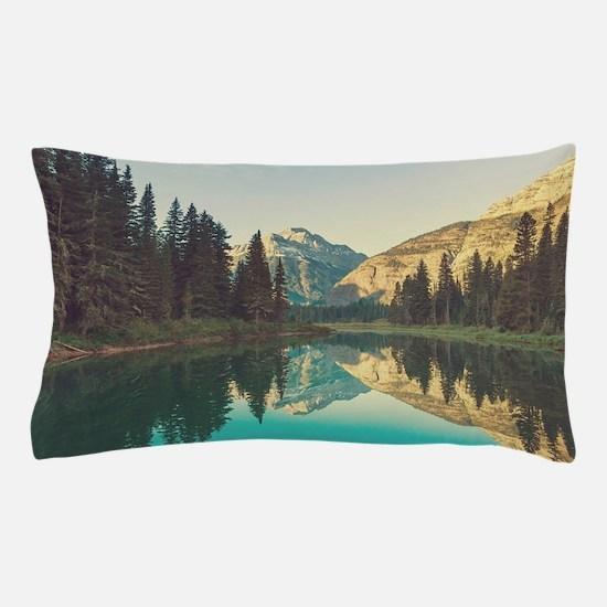 Glacier National Park Pillow Case