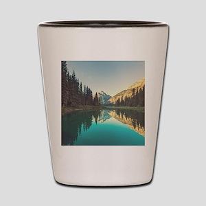 Glacier National Park Shot Glass