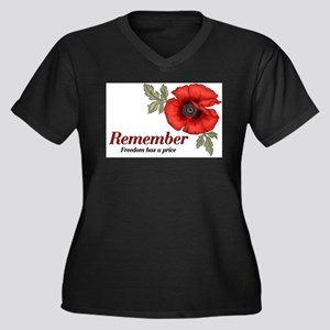 Remember Poppy Plus Size T-Shirt