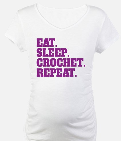 Eat. Sleep. Crochet. Repeat. Shirt