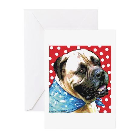 Dapper Bullmastiff Greeting Cards (Pk of 10)