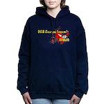 Dfa Red Women's Hooded Sweatshirt